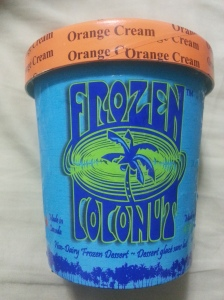 Orange Cream Frozen Coconut