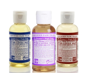 Dr Bronner's Travel Soaps