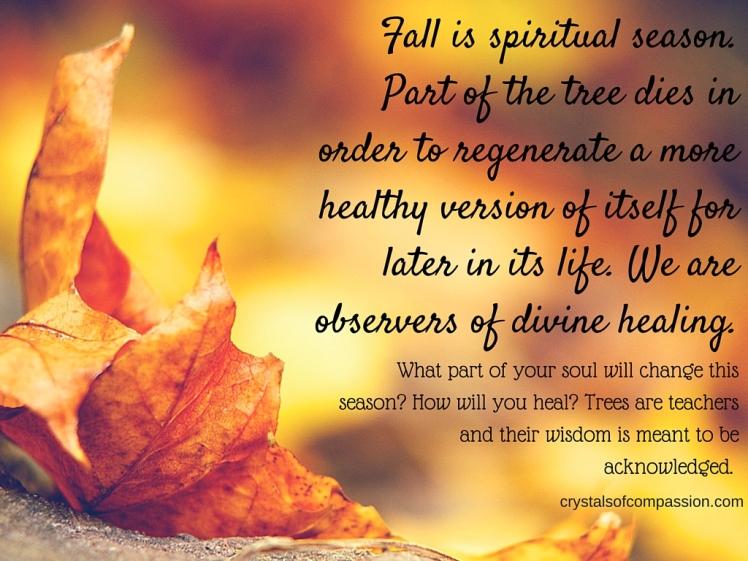 Spiritual Fall