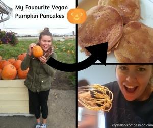 My Favourie Vegan Pumpkin Pancakes