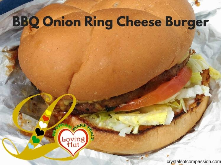 Loving Hut Burger