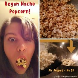 Vegan Nacho Popcorn!