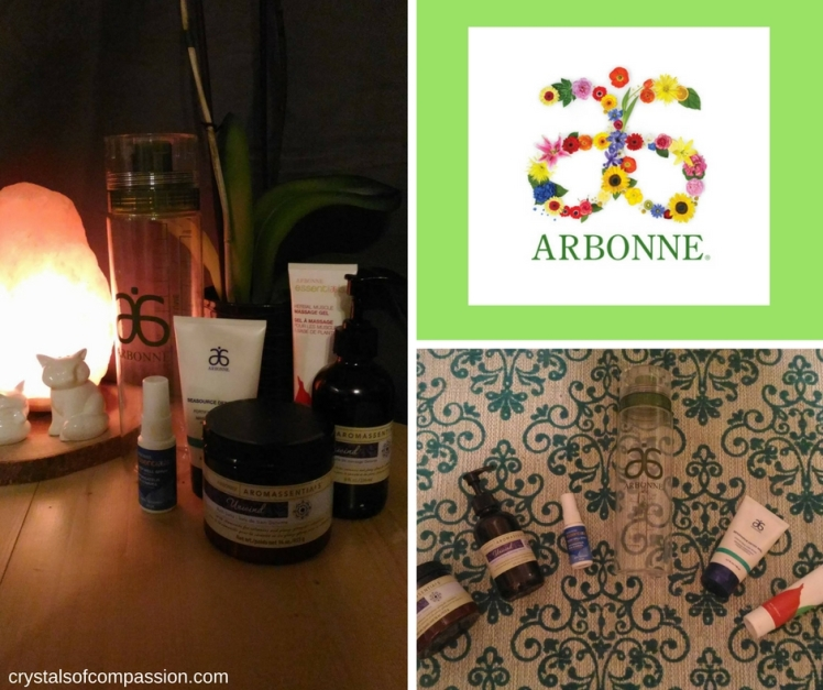 Arbonne Product Review – Crystals of Compassion